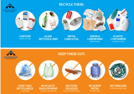 Tips on being better at recycling